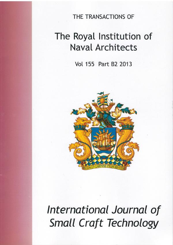 RINA International Journal of Small Craft Technology_s