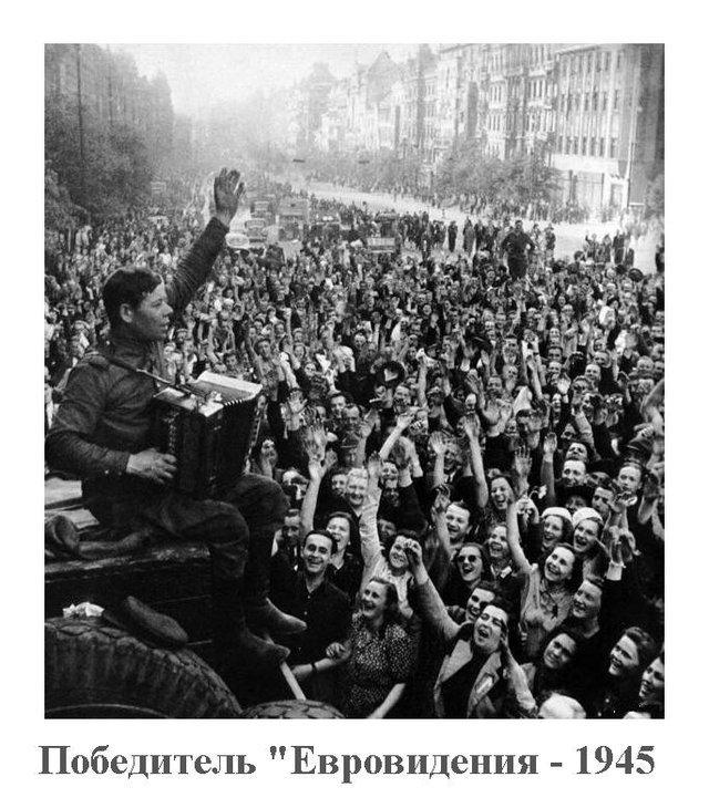 """Фото дня. Победитель """"Евровидения - 1945"""""""