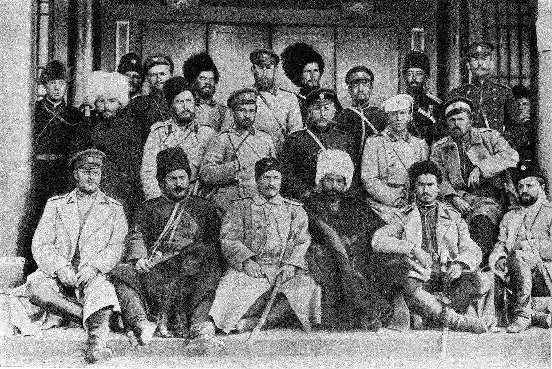 Нерчинцы в Гирине 1900 г