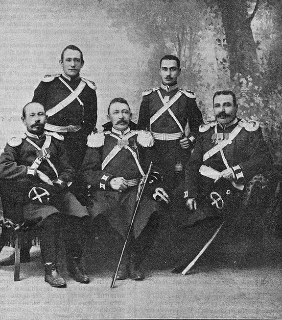 офицеры читинцы
