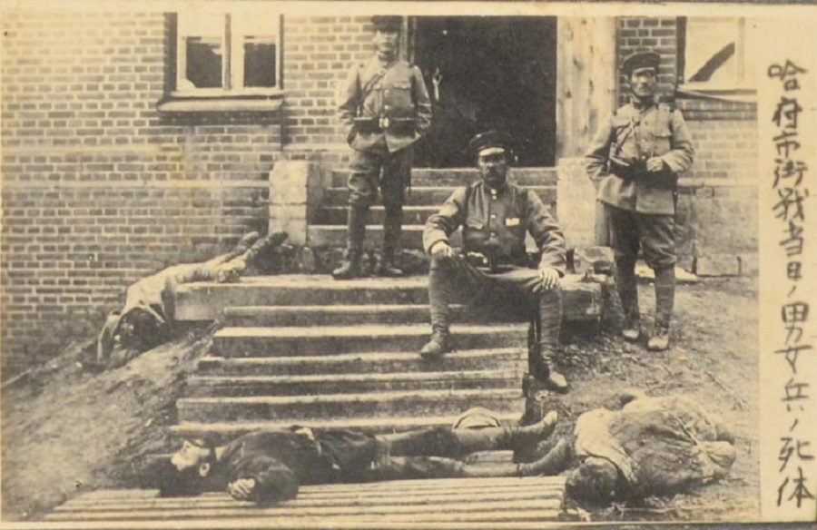японцы и трупы