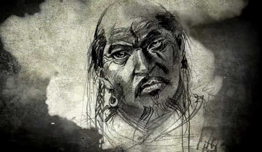 рисунок из клипа