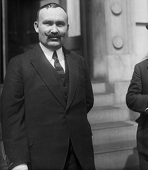 Г.М. Семенов в Нью-Йорке. 5 апреля 1922 года.