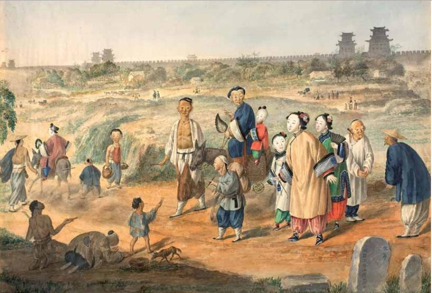 Чмутов. За стенами Пекина. 1855