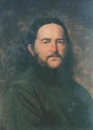 Портрет священика. художник Л.С. Игорев