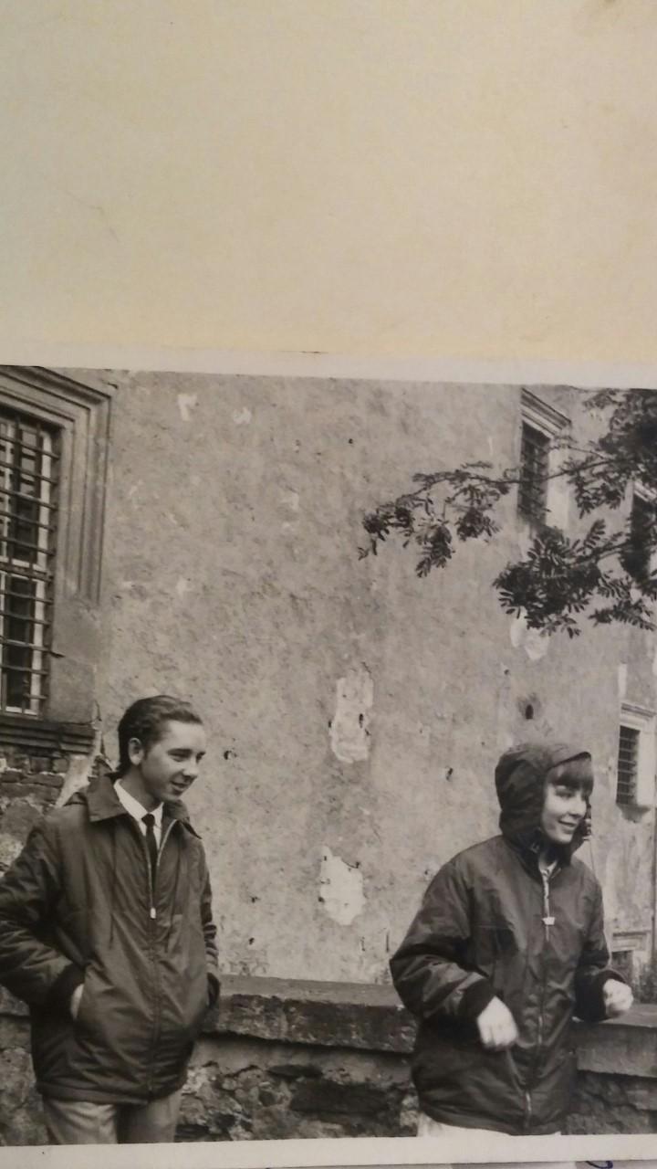 Это я в ГДР, мне шестнадцать лет