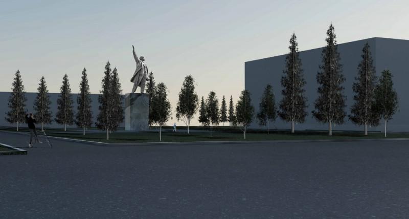 Площадка у памятника Ленину 1