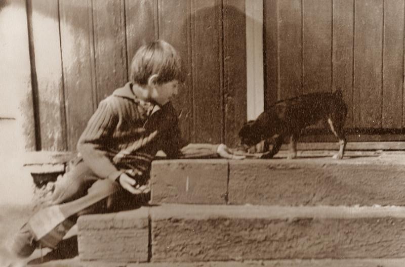 Мальчик с собачкой