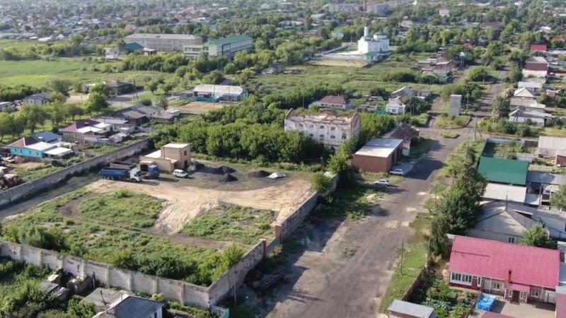 Славгородская тюрьма и зона подтопления