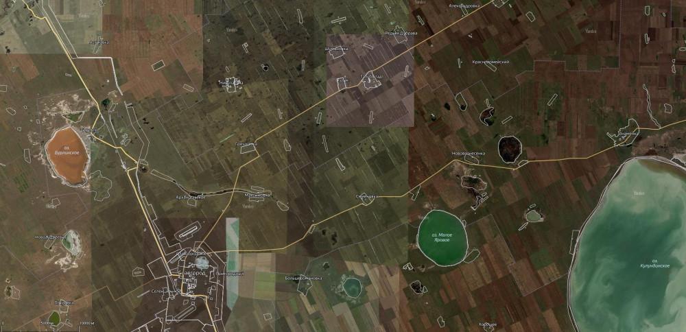 Точки на карте