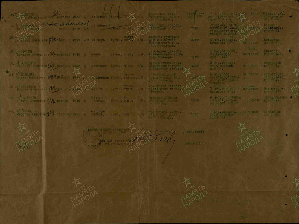 Именной список военнообязанных (1)