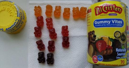 L'il Critters, Мультивитамин Gummy Vites, 190 жевательных конфет