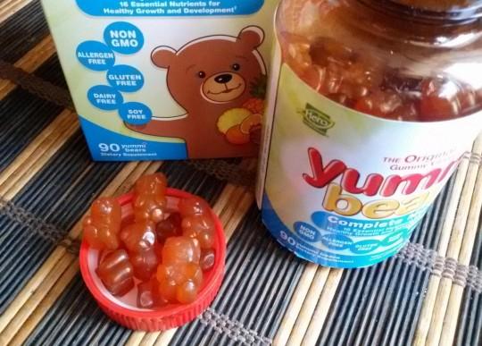 Hero Nutritional Products, Yummi Bears, мультивитаминный комплекс