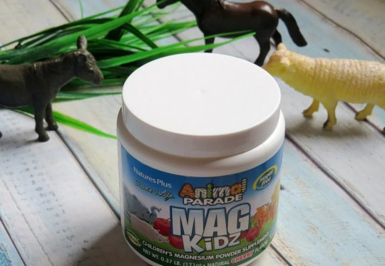 Nature's Plus, Парад зверей Mag Kidz, магний для детей, вкус натуральной вишни