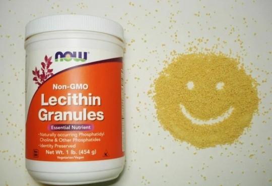 Now Foods, Гранулы лецитина, Без ГМО, 2 фунта (907 г)