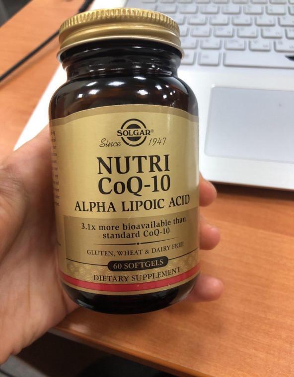 Отзывы Solgar, CoQ-10 Nutri-Nano, альфа-липоевая кислота