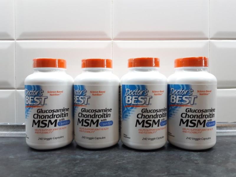 Обзор и отзывы на Глюкозамин хондроитин МСМ с OptiMSM от Doctor's Best. Польза и вред, как принимать