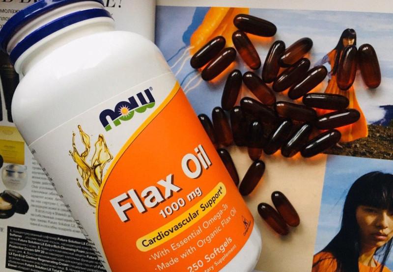 Обзор и отзывы на льняное масло с незаменимыми жирными кислотами омега-3 Нау Фудс Now Foods Flax Oil