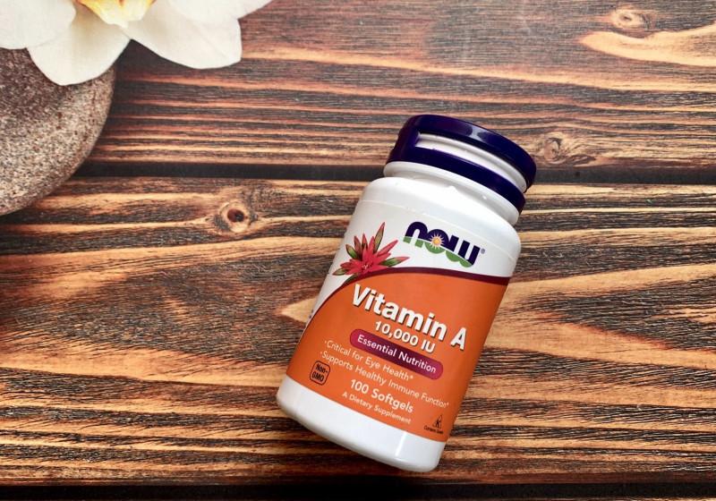 Обзор и отзывы Витамин A 10 000 МЕ Нау Фудс из Айхерб от Now Foods