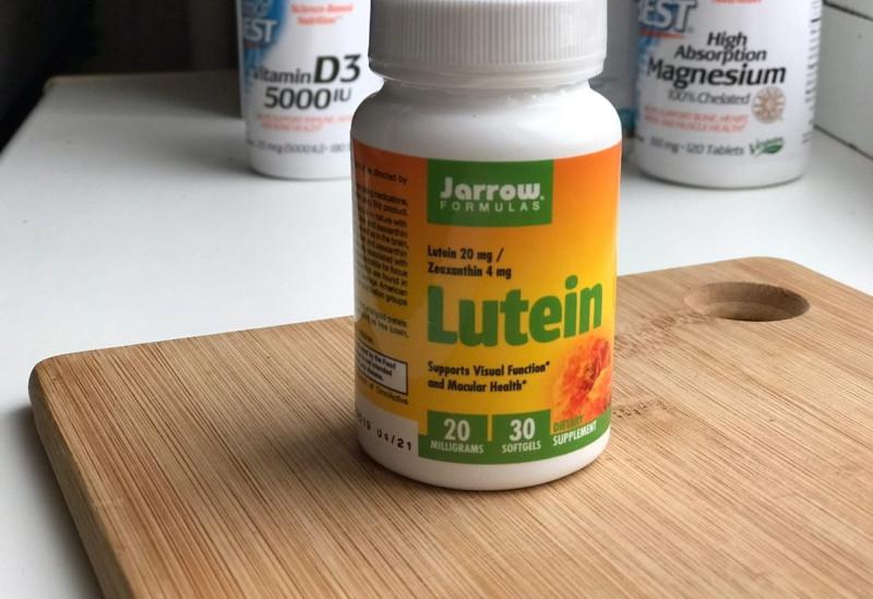 Отзыв на лютеин 20 мг 60 мягких таблеток Jarrow Formulas