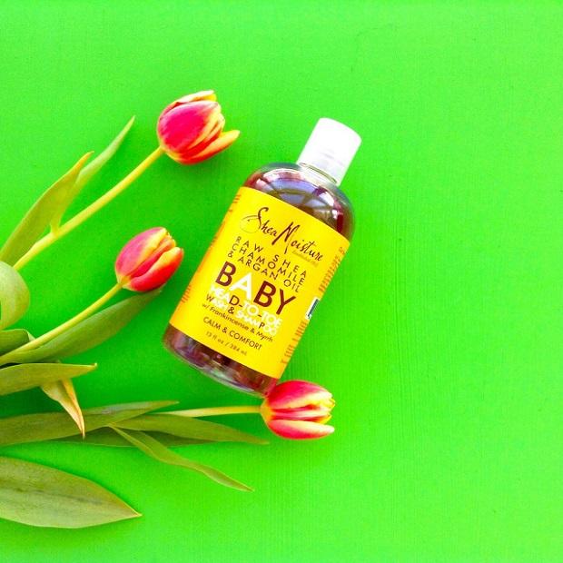 Отзыв детское мыло и шампунь с маслом босвелли SheaMoisture