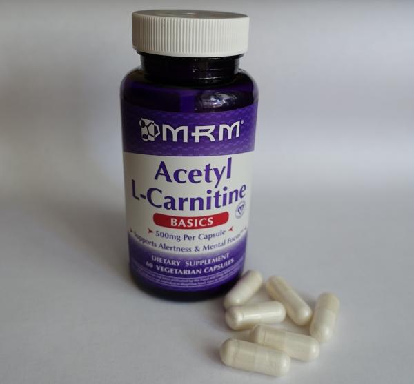 Обзор и отзывы на Ацетил L-карнитин MRM. Польза и вред, как принимать, противопоказания. Где купить.