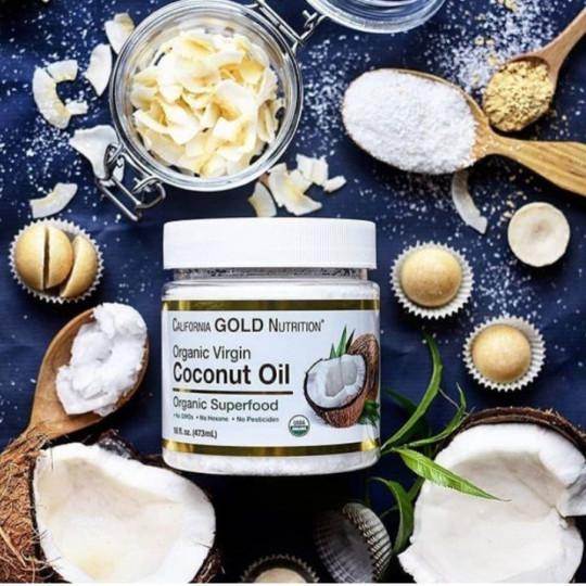 Обзор и отзывы на California Gold Nutrition, Органическое кокосовое масло первого холодного отжима. Купить со скидкой через промокод на iHerb Айхерб