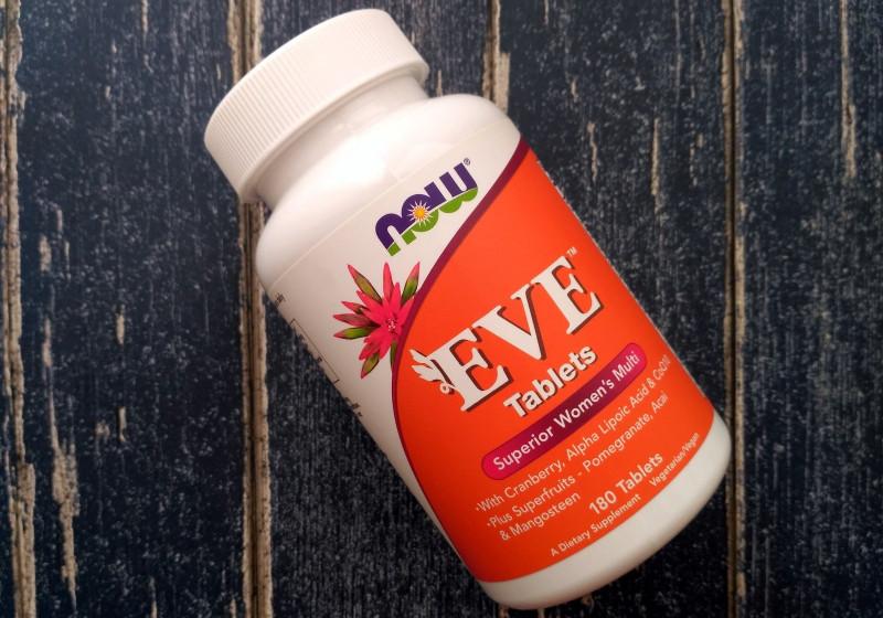 Отзыв женские мультивитамины Now Foods Eve — хороший состав