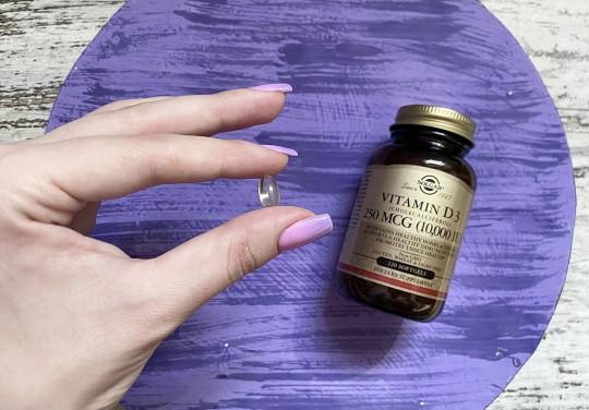 Обзор и отзывы на витамин Д от Solgar Солгар 10000 МЕ. Польза и вред, как принимать. Где купить.