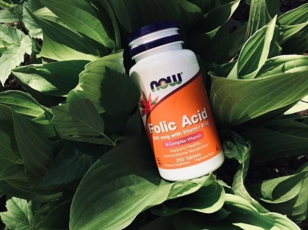 Отзыв БАД Now Foods Folic Acid 800 mcg. Обзор фолиевой кислоты 800 мкг из США. Как принимать добавку, противопоказания