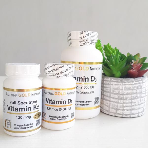 Обзор БАД California Gold Nutrition, Витамин К2 (в виде МК-4, МК-6, МК-7, МК-9). Противопоказания. Польза и вред, как принимать.