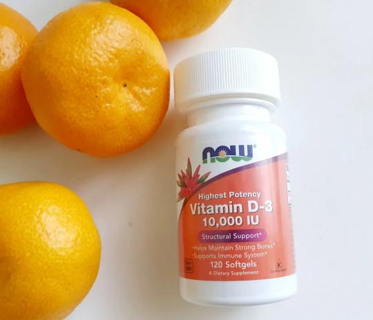 Отзывы Now Foods Витамин D-3 высокоактивный 10000 IU, 120 шт. Противопоказания, где купить дешево.