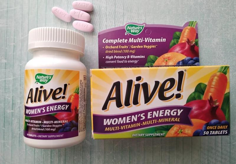Обзор и отзывы на Nature's Way, Alive!, комплекс мультивитаминов и мультиминералов для женщин.