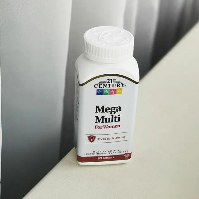 Обзор и отзывы на 21st Century Mega Multi для женщин, мультивитамины и мультиминералы. Польза и вред