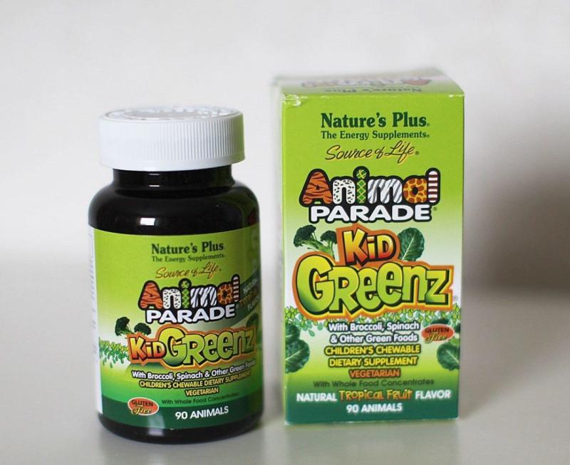 Animal Parade, Kid Greenz, вкус натуральных фруктов