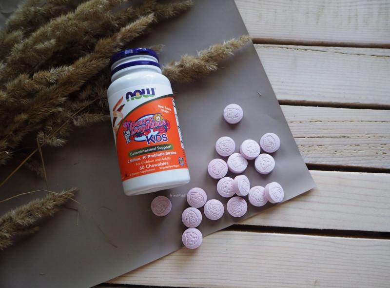 Отзывы пробиотик Now Foods Berry Dophilus для детей, 2 млрд. Противопоказания, где купить дешево