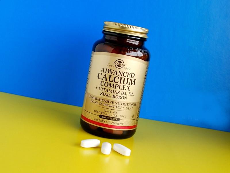Отзывы Solgar, Улучшенный кальциевый комплекс с витаминами D3, К2, цинком и бором