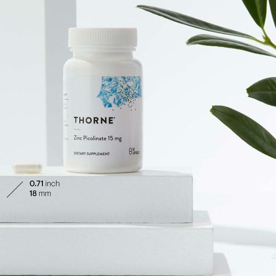 Отзывы Thorne Research Пиколинат цинка, 15 мг. Противопоказания, где купить дешево