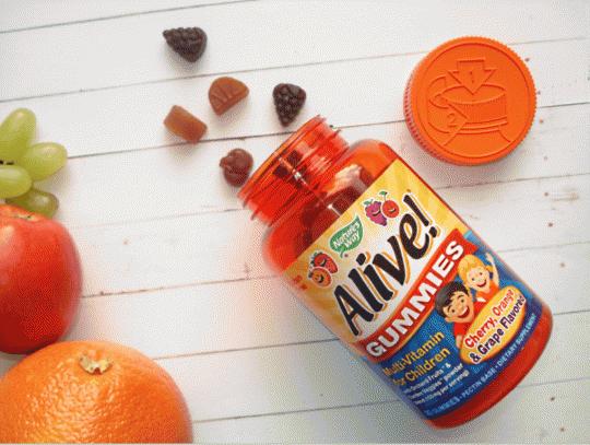 Отзывы Nature's Way Alive Gummies Multi-Vitamin for Children. Детские витамины, где купить дешево