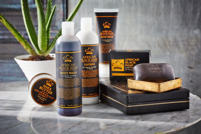 Отзыв африканское черное натуральное мыло Nubian Heritage