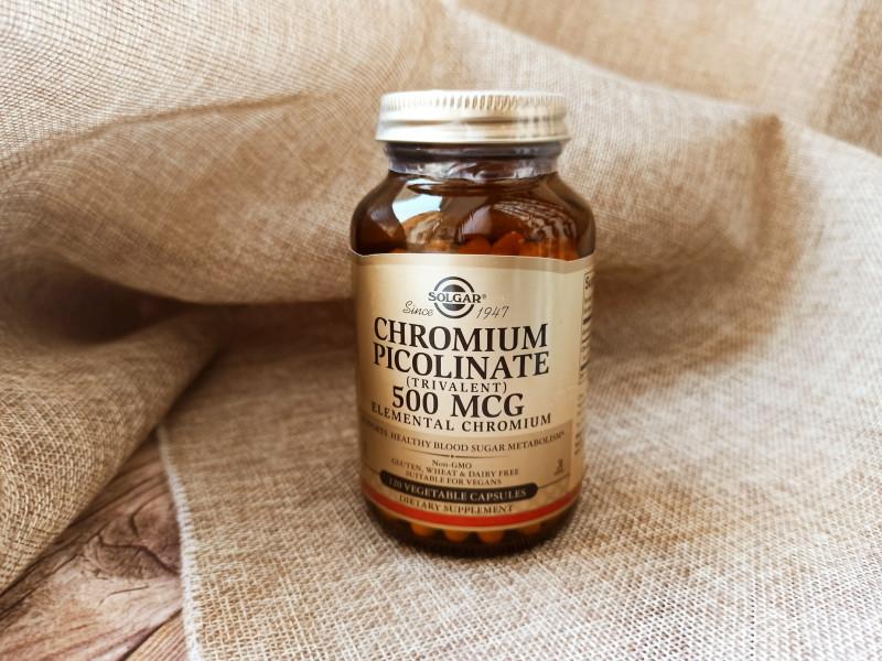 Хром пиколинат Солгар 500мкг полезные свойства