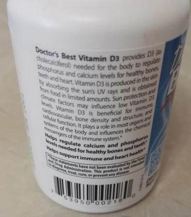 Doctor's Best Vitamin D3