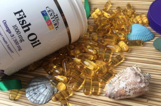 Рыбий жир омега-3 21st Century 1000 мг