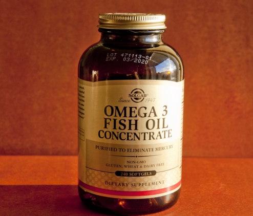 Solgar, Омега-3 рыбий жир, концентрат