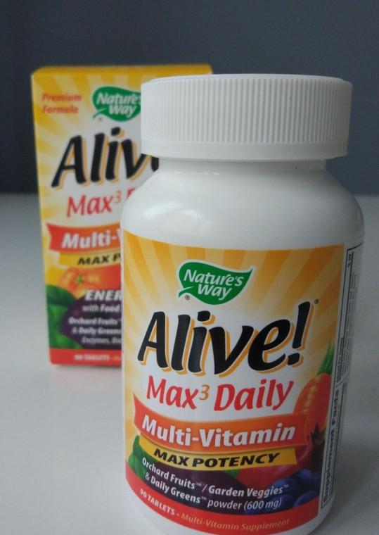 Nature's Way Alive  мультивитамин Max3 daily