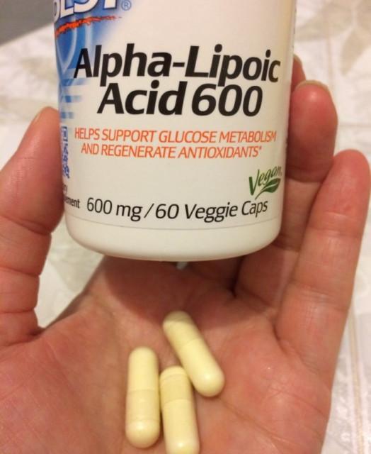 Doctor's Best Альфа-липоевая кислота