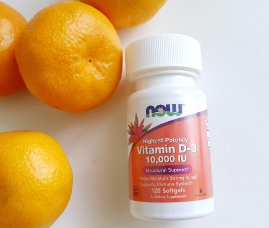 Now Foods Витамин D-3 высокоактивный 10000 IU