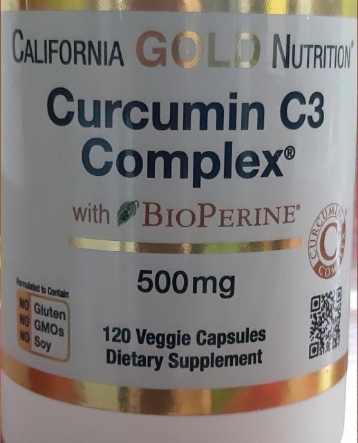 Отзывы California Curcumin C3 Complex с BioPerine
