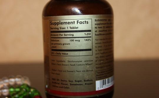 Отзывы Solgar Selenium 100 мкг, Селен антиоксидант