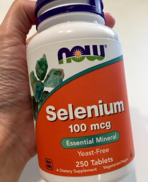 Отзыв БАД Селен Now Foods Selenium. Польза и вред, противопоказания, как принимать. Обзор биодобавки